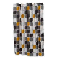 Home Fashions Metro Shower Curtain - BedBathandBeyond.com