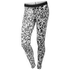 Nike Leg-A-See Allover Print Women's Tights Nike Outfits, Nike Running Leggings, Workout Leggings, Workout Pants, Gym Pants, Nike Pants, Yoga Pants, Nike Shoes, Black And White Nikes