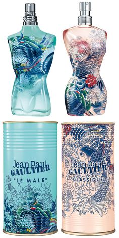 Jean-Paul Gaultier Summer Editions of Le Male and Le Female fragrances