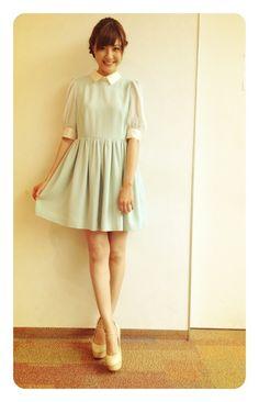 佐藤ありさ Cold Shoulder Dress, Lady, Cute, Beauty, Beautiful, Dresses, Fashion, Vestidos, Moda