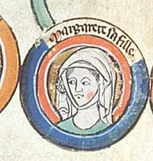 Margaret Plantagenet, Queen of Scotland.Margaret of England September 1240 – 26 February was Queen of Scots as the wife of King Alexander III. Medieval Wedding, Medieval Art, Women In History, British History, King Alexander, Royal Family Trees, Courtier, Plantagenet, Princess Margaret