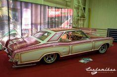 Buick Riviera 60's panel paint slammed astro supremes thin white walls plush