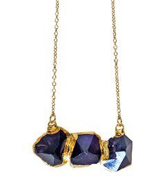 amethyst TRIO necklace | kei