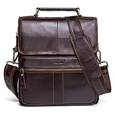 online shopping for Contacts Genuine Leather Men Messenger Crossbody Shoulder Bag Travel Handbag from top store. See new offer for Contacts Genuine Leather Men Messenger Crossbody Shoulder Bag Travel Handbag Laptop Shoulder Bag, Crossbody Shoulder Bag, Shoulder Handbags, Laptop Tote, Travel Handbags, Crossbody Tote, Messenger Bag Men, Handbags Online, Cross Body Handbags