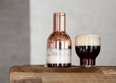 Beer Foamer by Norm Architects promises better pints  Great form and materiality. Not so sure about the concept though.