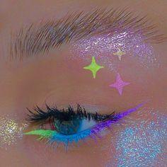 Cute Makeup Looks, Makeup Eye Looks, Eye Makeup Art, Crazy Makeup, Pretty Makeup, Skin Makeup, Makeup Inspo, Eyeshadow Makeup, Makeup Inspiration