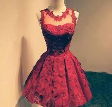 Resultado de imagem para 15 anos vestido vermelho