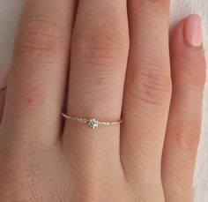 Two Tone Gold Engagement Ring Set Vintage Engagement Rings Vintage Moissanite Ring with Half Eternity Band - Fine Jewelry Ideas Rose Gold Engagement Ring, Engagement Ring Settings, Vintage Engagement Rings, Vintage Rings, Wedding Jewelry, Gold Jewelry, Jewelry Rings, Fine Jewelry, Wedding Rings
