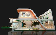 Heliopolis developers group booth at Aqari exhibition in Cairo