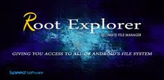 Root Explorer (File Manager) - Android apps download