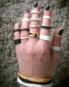 Jewels. Polymer clay. Rings/bracelets