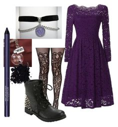 """""""purple is cool"""" by mytwistedtomorrow ❤ liked on Polyvore featuring art"""