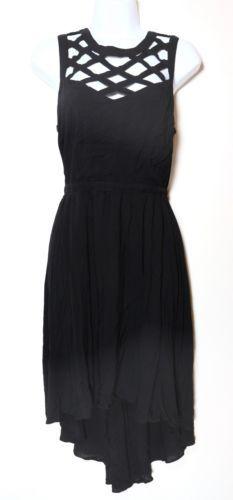 BCBGeneration Cutout Dress, Black, Size L