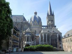 Aachen Cathedral, containing Charlemagne's Palatine Chapel