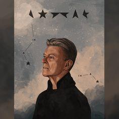 40 images hommage à David Bowie