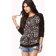 Leopard sweatshirt from forever 21
