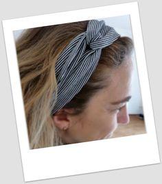 Haarbändiger aus Jersey