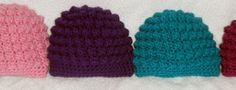 Baby Bumpy Bobbles Beanie    Here is my pattern for the Bumpy Bobble Beanie. Please ask any questions and make sure to contact me with any...