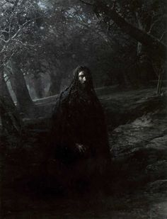 Nikolai Ge.  On the Mount of Olives 1869