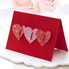 Valentinstag Nachricht, Niedlicher Valentinstag Karten, Handmade Valentines  Karten, Ideen Für Den Valentinstag, Valentine Handwerk, 3d Karten, ...