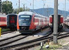 ÖBB Desiro class 5022, Graz, Austria Commercial Vehicle, Romania, Graz Austria, Vehicles, Euro, Trains, Rolling Stock, Vehicle, Tools