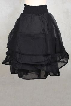 Madeleine Skirt in Black - Les Ours