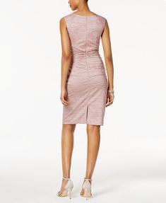 Image 2 of Jessica Howard Embellished Ruched Sheath Dress