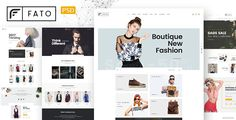 Fato - Fashion Ecommerce PSD Template by bily Fato is evaluated as my most unique ecommerce PSD template for shop online with clean and modern design. I believe that Fato will make your work look more impressive and attractive to viewers, our package includes 15  well-organiz