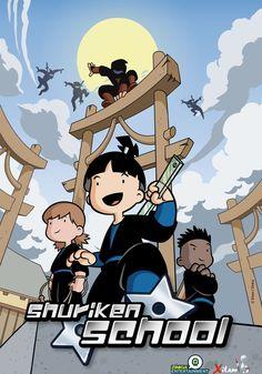 Series infantiles de wuakitv on pinterest pocoyo - Shuriken school ...