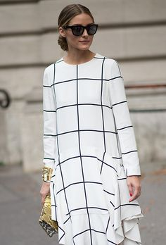 Brides.com: . Olivia Palermo at Paris Fashion Week Spring 2015.