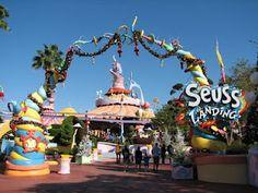 Seuss Landing @Universal's Islands of Adventure