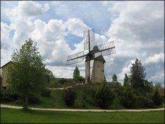 thierrys76 - de tout et de rien: La photo de la semaine - mon beau moulin