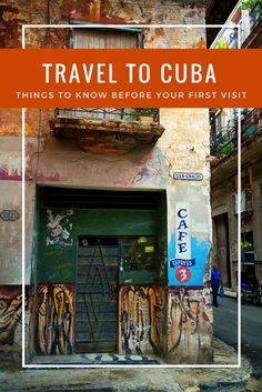 Travel to Cuba facts for U.S. Citizens Visiting for the First Time: Your Cuba Guide for everything you want to know before you head to this Caribbean nation.