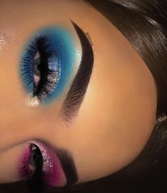 Want to know more about step by step eye makeup techniques Dope Makeup, Edgy Makeup, Baddie Makeup, Eye Makeup Art, Crazy Makeup, Skin Makeup, Eyeshadow Makeup, Makeup Inspo, Eyeliner