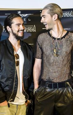 Tom Kaulitz & Bill Kaulitz of Tokio Hotel (2014)