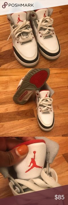 Jordan Retro 3s Worn a few times • great condition • no box • size 6y • no replacement box • ships the same day or next day after purchase • Jordan Shoes Athletic Shoes