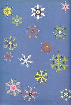"""Endpaper detail from """"Richard Scarry's The Animals' Merry Christmas"""" 1950"""
