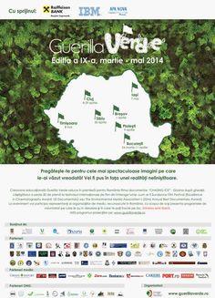 Caravana Guerilla Verde ajunge la Iasi pe 7 mai