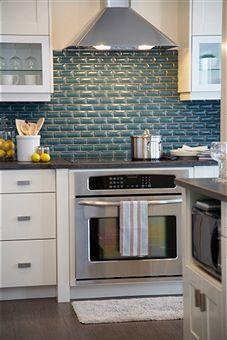 white kitchen cabinet backsplash ideas - Google Search