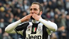 Gonzalo Higuain Photos - Gonzalo Higuain of Juventus FC celebrates a goal during the Serie A match between Juventus FC and SS Lazio at Juventus Stadium on January 2017 in Turin, Italy. - Juventus FC v SS Lazio - Serie A Juventus Stadium, Juventus Fc, Psg, Andrea Pirlo, Everton, Video Juventus, Real Madrid, Premier League Goals, Chelsea