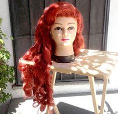 The Little Mermaid Ariel Adult Costume Wig in by littlepennylane