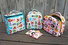 Kids Lunch Bag - Downloadable Pattern $9.00 ( rentrée scolaire / ateliers été )