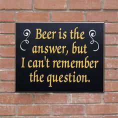 Bar Sign Funny Bar Sign Beer Sign Beer Gift Drinking Sign Pub