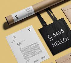 C Says Hello! by Marius Kempken #LogoCore