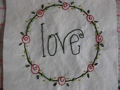 Christmas quilt part I: embroidery | Sewn Up