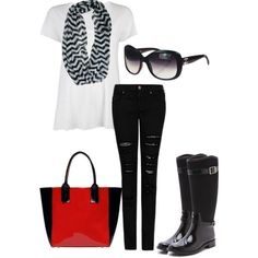Back to Black by caligali813 on Polyvore