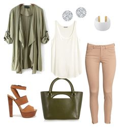 """""""niiiice  !"""" by fannyaleksei on Polyvore featuring H&M, Steve Madden, J.W. Anderson and Gogo Philip"""