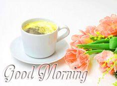 beautiful  good morning tea pic Good Morning Coffee Images, Good Morning Tea, Free Good Morning Images, Good Morning Wishes, Coffee Cups, Tea Cups, Tableware, Beautiful, Coffee Mugs