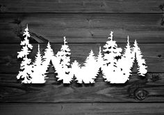 New designs are going up! Excited to share this item from my shop: Trees Vinyl Decal Mountain Decal Mountain Sticker Nature Decal Adventure Decal Laptop Decal Car Decal Decals For Yeti Car Accessory Jeep Stickers, Jeep Decals, Vinyl Decals, Truck Decals, Wall Decals, Wall Art, Mountain Silhouette, Tree Silhouette, Animal Silhouette