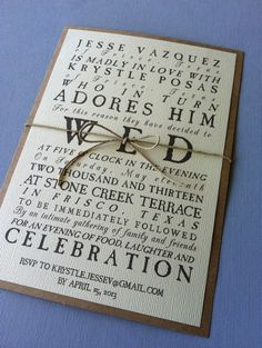 Rustic Antique Wedding Invitations by LemonInvitations on Etsy, $2.00